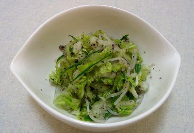 白菜と春雨のナムル